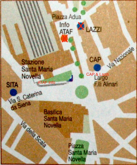 Tourist Map Of Florence. florence-bus-map.JPG