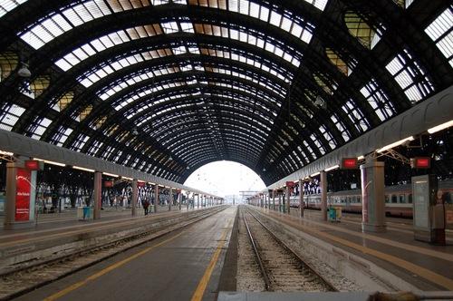 milano centrale platform