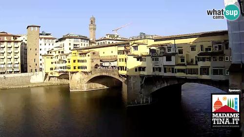 Ponte Vecchio Webcam